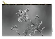 A Lazy Summer Day - Joe Pye Weed 2 Bw Carry-all Pouch