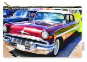 A Line Of Classic Antique Cars 9 Carry-all Pouch