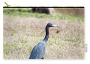 A Little Blue Heron Carry-all Pouch