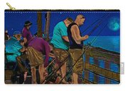A Little Night Fishing At The Rodanthe Pier 2 Carry-all Pouch