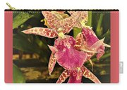 A Living Orchid Looks Like Animal Print Doesnt It So Beautiful Carry-all Pouch