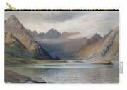 A Loch North Of Hadrian's Wall Carry-all Pouch by Walter Severn
