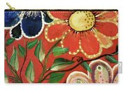 A  Trio Of Flowers Carry-all Pouch