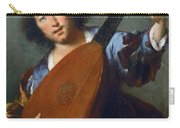 A Lute-player Carry-all Pouch