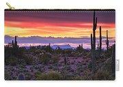 A Magical Desert Morning  Carry-all Pouch