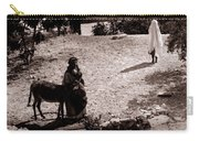 A Man With His Bride 1900s Carry-all Pouch