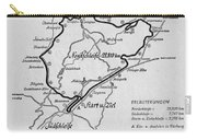 A Map Of The Nurburgring Circuit Carry-all Pouch
