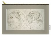 A Map Of The World From The Best Authorities Carry-all Pouch