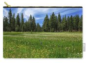 A Meadow In Lassen County Carry-all Pouch