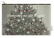 A Merry Little Christmas Quote Carry-all Pouch