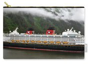 A Mickey Mouse Cruise Ship Carry-all Pouch