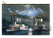 A Midnight Race On The Mississippi Carry-all Pouch