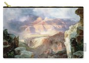 A Miracle Of Nature Carry-all Pouch by Thomas Moran