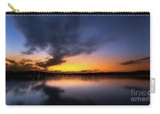 A Misty Sunset On Lake Lanier Carry-all Pouch