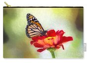 A Monarch Moment Carry-all Pouch
