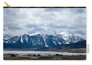A Montana Village Scape Carry-all Pouch