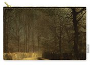 A Moonlit Lane Carry-all Pouch by John Atkinson Grimshaw