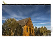 A Moonlit Nightscape Of The Historic Carry-all Pouch