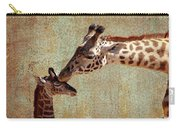 A Mother's Kiss Carry-all Pouch