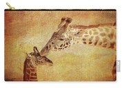 A Mother's Kiss Painted 2 Carry-all Pouch