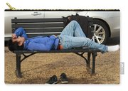 A Nap In The Park Carry-all Pouch
