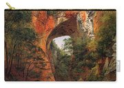 A Natural Bridge In Virginia Carry-all Pouch by David Johnson