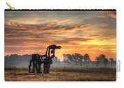 A New Day The Iron Horse Carry-all Pouch