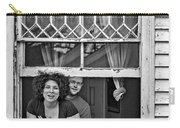 A New Orleans Greeting 2 Bw Carry-all Pouch