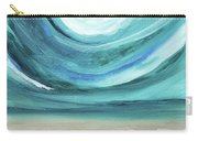 A New Start Wide- Art By Linda Woods Carry-all Pouch