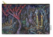 A Night In A Bunny Cemetery Carry-all Pouch