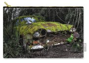 A Non Rolling Car Gathers Some Moss Carry-all Pouch