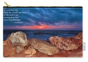 A Painted Sky For The Poet's Eye Carry-all Pouch