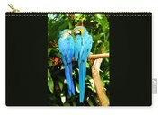 A Pair Of Parrots Carry-all Pouch
