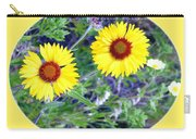 A Pair Of Wild Susans Carry-all Pouch