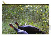 A Pair Of Wild Turkeys Carry-all Pouch