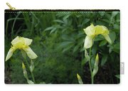 A Pair Of Yellow Bearded Iris 2 Carry-all Pouch