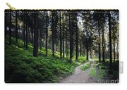 A Path Through A Dense Forest Carry-all Pouch