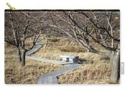 A Path Through Dune Grass Carry-all Pouch