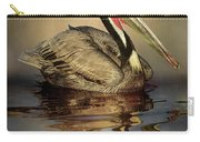 A Pelican And His Reflection Carry-all Pouch