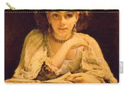 A Pensive Moment Carry-all Pouch by John Ballantyne