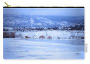 A Penticton Winter Carry-all Pouch