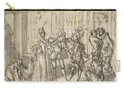 A Performance By The Commedia Dell'arte Carry-all Pouch