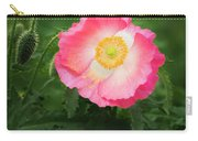 A Pink Poppy Portrait. Carry-all Pouch