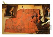 A Pirates Map Room Carry-all Pouch