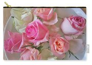 A Plate Of Roses Carry-all Pouch