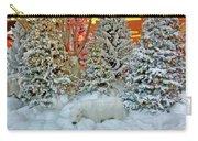 A Polar Bear Christmas Carry-all Pouch