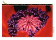 A Poppy's Heart Carry-all Pouch
