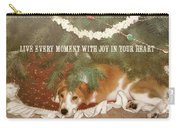 A Puppy For Christmas Quote Carry-all Pouch