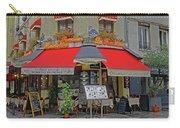 A Quaint Restaurant In Paris, France Carry-all Pouch