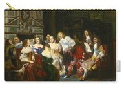 A Reading By Madame De Sevigne Carry-all Pouch